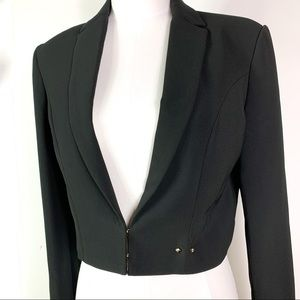 Marciano Guess || Black Cropped Blazer Size 10